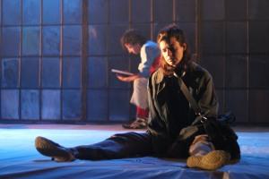 Actors in Wajdi Mouawad's play 'Incendies'